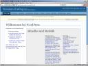 Das Backend von WordPress vor dem Update am 5.2.2008