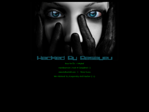 Defaced: Hacked by Basayev