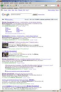 """SERPs für """"Miniatur Wunderland"""" bei google.com"""
