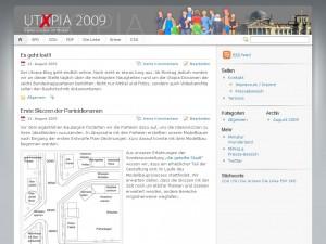 Utopia 2009 – Parteivisionen im Modell